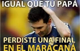 Memes De Lionel Messi - lionel messi final mundial 2014 meme memes humor soccer
