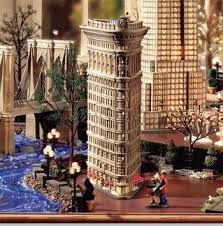 department 56 in the city flatiron building