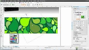 pattern fill coreldraw x6 coreldraw x6 for beginners vector fills youtube