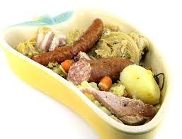cuisiner palette demi sel recette potée lorraine au porc