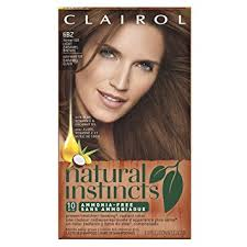 light caramel brown hair color amazon com clairol natural instincts semi permanent hair color kit