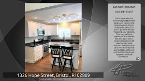 Kitchen Cabinets In Ri by 1326 Hope Street Bristol Ri 02809 Youtube