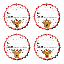 reindeers in santa claus hats christmas with vintage frame and