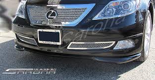 2006 lexus ls 460 lexus ls460 front bumper add on sedan front add on lip 2006