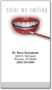 sketch lips appointment business card smartpractice dental