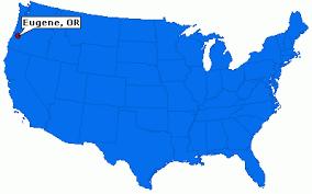 map of oregon eugene eugene oregon city information epodunk