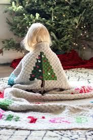 crocheted christmas modern c2c crochet christmas afghan free pattern