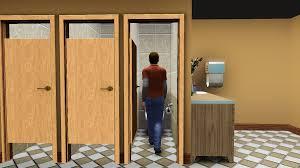 Stall Door Mod The Sims The Discretion Doors