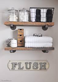 Floating Shelves For Bathroom by Top 25 Best Decorating Bathroom Shelves Ideas On Pinterest