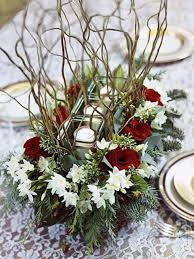 Rustic Christmas Centerpieces - picture of awesome christmas wedding centerpieces