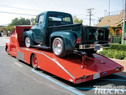 Old Ford Truck Crew Cab - 1953 ford coe crew cab hauler rod network