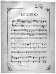 Youre A Grand Old Flag Lyrics Mary U0027s A Grand Old Name Library Of Congress