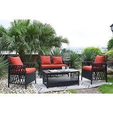 Black Resin Patio Furniture Best 25 Sunbrella Outdoor Furniture Ideas On Pinterest Patio