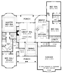 country style floor plans country style house plan 4 beds 3 00 baths 2304 sq ft plan 929 610