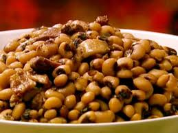 cuisine legume black eyed peas with bacon and pork recipe the neelys food