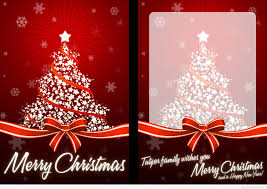 merry greeting card happy new year