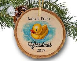 duck ornament etsy