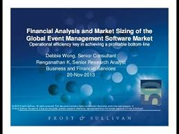 financial analysis and market sizing of the event management