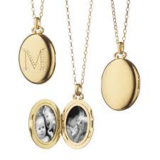 Necklaces With Initials Bespoke Petite Initial Locket