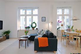 Colorful Sofas Small Living Room Design Ideas Apartments White Curtains Tosca