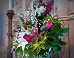 church flower arrangements beautiful and colorful flower arrangement for church altar