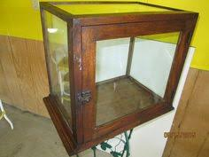 Glass Display Cabinet For Cafe Antique Wards Bakery Pie Cabinet Wood U0026 Glass Display Case