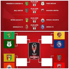 Jadwal Piala Presiden 2018 Hasil Drawing Dan Jadwal Siaran Langsung 8 Besar Piala Presiden