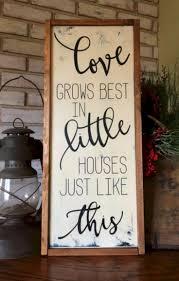 Country Home Decor Signs by Best 25 Farmhouse Decor Ideas On Pinterest Farm Kitchen Decor