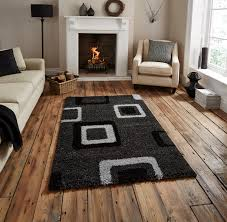 Modern Square Rugs by Decorative Floor Rug Contemporary Multi Tonal Square Pattern