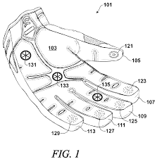 patent us8001620 temperature sensing glove for automotive