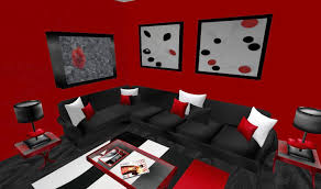 Black And White Living Room Ideas by Attractive Black And Red Living Room Ideas Black And White And Red