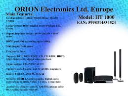 home theater systems with hdmi inputs outputs the intelligent choice ppt download