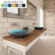above counter bathroom sink decolav nadine 2804 incandescence collection round above counter