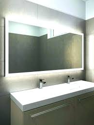 Heated Bathroom Mirror With Light Bathroom Mirrors With Lights Paradoxproductions Site