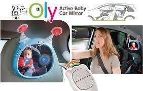 baby car mirror with light benbat oly active baby car mirror the babyloft malaysia