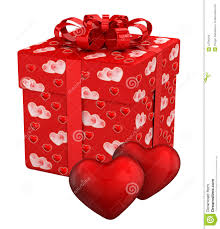 valentines presents gift box for s day presents stock illustration image