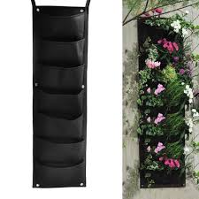 Wall Planters Indoor by Aliexpress Com Buy 7 Pockets Hanging Vertical Garden Planter