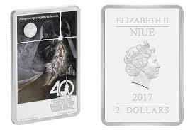 star wars 40th anniversary coin from nz mint swnz star wars new