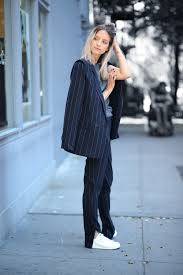 30 blogger street style wearing the pinstripe trend