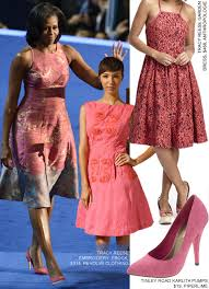 obama dresses copy obama s tracy reese dress from the dnc 2012 fashion