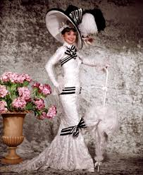 best black and white audrey hepburn in my fair lady i