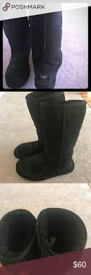 ugg s rianne boots black knit black uggs worn knit black uggs great condition ugg shoes