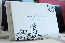 Flat Wedding Programs Hard Cover Wedding Invitations Sydney Designed By Ooh Aah