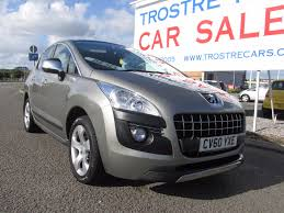 used peugeot suv for sale used peugeot 3008 exclusive for sale motors co uk