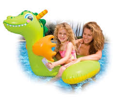 Inflatable Pool Floats by Inflatable Water Toys Baby Kids Cute Dragon Pool Float Inflatable