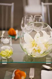 Wine Glass Flower Vase Dining Room Vases Awesome Glass Vase Round Fish Bowl With Regard