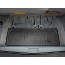 toyota sequoia cargo liner amazon com weathertech custom fit cargo liners for toyota