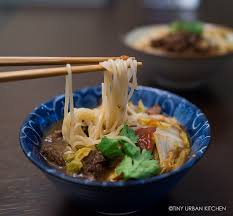 Urban Soup Kitchen Shanghai - quick u0026 easy taiwanese beef noodle soup in a pressure cooker