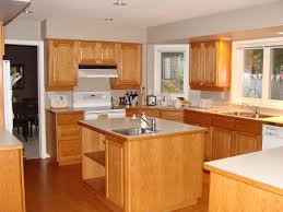 kitchen oak cabinets paint color extraordinary home design