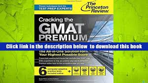 download cracking the gmat premium edition with 6 computer